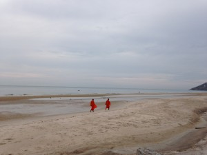 Hua Hin Sunrise Beach Walk